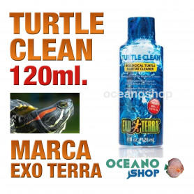 EXOTERRA  TURTLE CLEAN - 120 ml