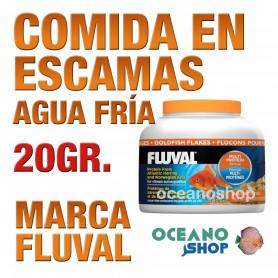 Comida en Escamas para Peces de Agua Fría FLUVAL - 20g / 125ml