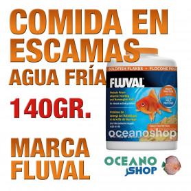 Comida en Escamas para Peces de Agua Fría FLUVAL - 140g / 750ml
