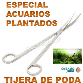 tijera poda acuario plantas plantado pecera musgo pinza
