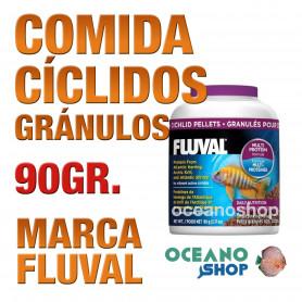 Comida en Gránulos para Cíclidos FLUVAL - 90g / 200ml