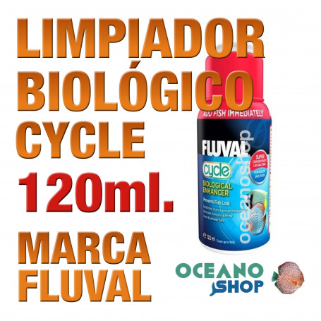 Realzador Biológico Bacterias Fluval (Cycle) - 120ml