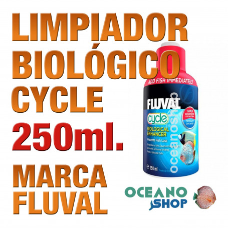 Realzador Biológico Bacterias Fluval (Cycle) - 250ml