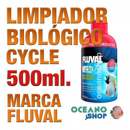 Realzador Biológico Bacterias Fluval (Cycle) - 500ml