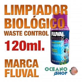 Limpiador Biológico Fluval (Waste Control) - 120ml