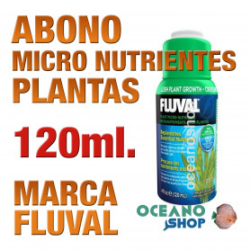 Fluval Micro Nutrientes para Plantas (Plant Gro) - 120 ml