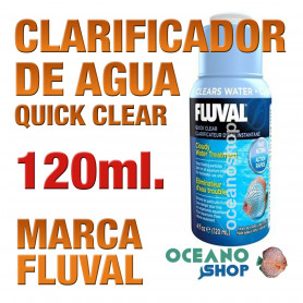 Clarificador Fluval Quick Clear 120 m