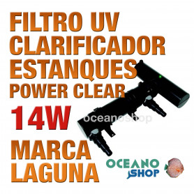 Filtros UV Clarificador Power Clear LAGUNA - 14 w