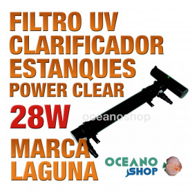 Filtros UV Clarificador Power Clear LAGUNA - 28w