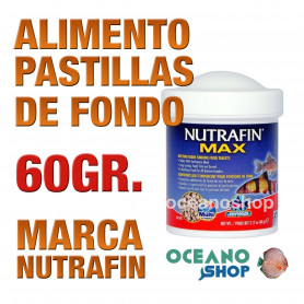 Alimento Pastillas de Fondo NUTRAFIN - 60 gr