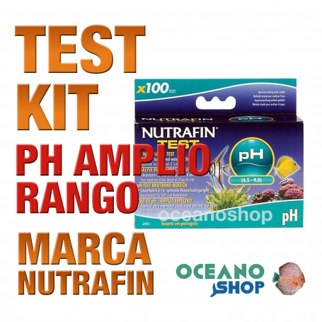Kit Test pHAmplio Rango Nutrafin