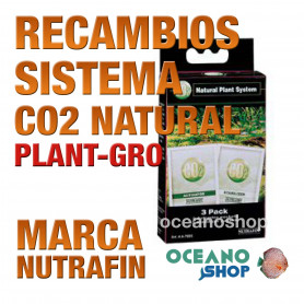 Recambios para Sitema Co2 NUTRAFIN