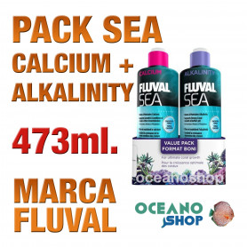 ALKALINITY/CALCIUM PACK 473 ml FLUVAL SEA