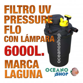 FILTRO PRESSURE FLO UV LAGUNA - 6000lts
