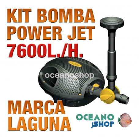 Bomba Power Jet Sumergible LAGUNA - 7600 l/h