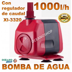 bomba xilong xl 3320 1000lh agua acuario sumergible regulable
