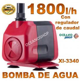 bomba xilong xl 3340 1800lh agua acuario sumergible regulable