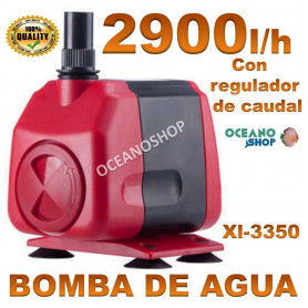 bomba xilong xl 3350 2900lh agua acuario sumergible regulable