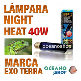 lámpara-reptiles-night-heat-40w-exo-terra