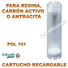 cartucho resina recargable mixta osmosis marino acuario pol 101