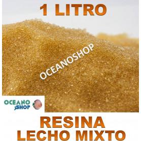 resina lecho mixto osmosis desmineralizar agua acuario marino desionizar desionizadora desmineralizar agua marina salada