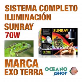 sistema-completo-de-iluminación-reptiles-sunray-70w-exo-terra