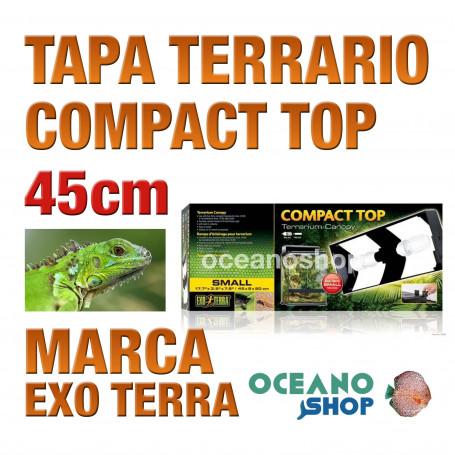 TAPA PARA TERRARIO REPTILES COMPACT TOP 45cm. Exo Terra