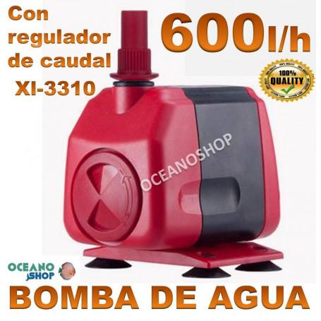 bomba xilong xl 3310 600lh agua acuario sumergible regulable
