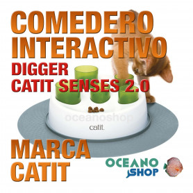 COMEDERO INTERACTIVO DIGGER CATIT SENSES 2.0