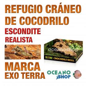 refugio-para-reptiles-crocodile-skull-cráneo-de-cocodrilo-exo-terra
