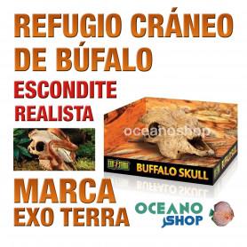 refugio-para-reptiles-búffalo-skull-cráneo-de-búfalo-exo-terra