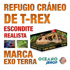 refugio-para-reptiles-t-rex-skull-cráneo-de-t-rex-exo-terra