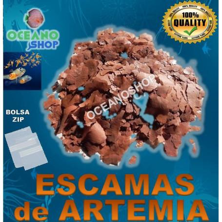 Escamas de artemia salina
