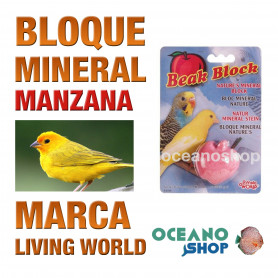 bloque-mineral-manzana-para-pájaros-living-world