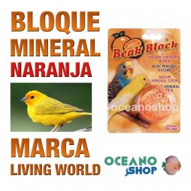 bloque-mineral-naranja-para-pájaros-living-world