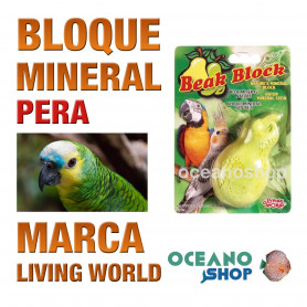 bloque-mineral-pera-para-pájaros-living-world