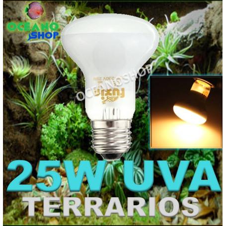Bombilla 25w UVA para terrarios o incubadoras