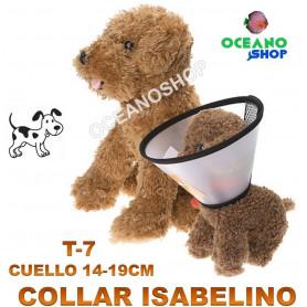 collar isabelino perro collarin cuello t7 heridas veterinario gato