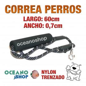 CORREA PERROS EMPUÑADURA ACOLCHADA FOAMEX GRAN COMODIDAD 120cm Longitud y 1,7cm Anchura L8 3441