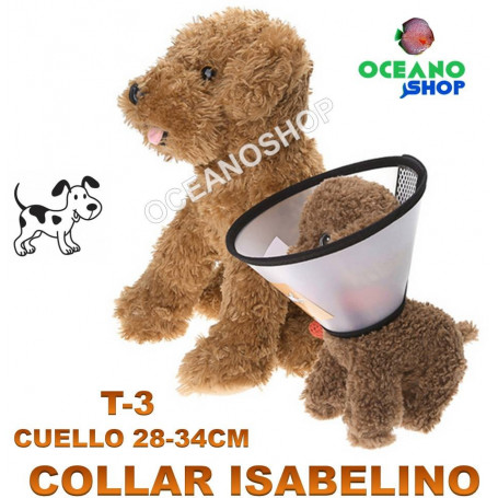 Collar isabelino T3 Cuello 28-34cm D3 5015