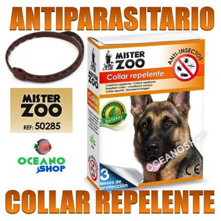 collar antiparasitos repelente perro antiparasitario pulgas garrapatas mister zoo mosquitos