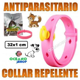collar antiparasitos repelente gato perro antiparasitario pulgas garrapatas mosquitos