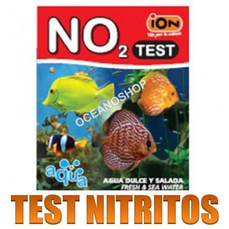 test ion no2 nitrItos acuario agua dulce y salada marino