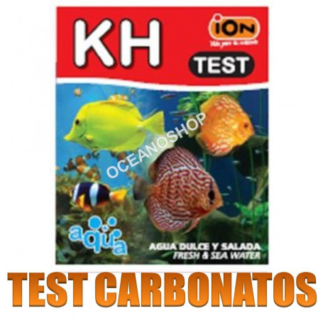 test ion kh carbonatos acuario agua dulce y salada marino