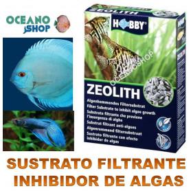 sustrato filtrante con efecto inhibidor antialgas de algas hobby