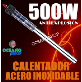 calentador inoxidable 500w rs-089 rs electrical acuario sumergible antiexplosion