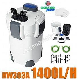 hw 303-a 1400l/h sunsun filtro exterior potente acuario pecera filtracion