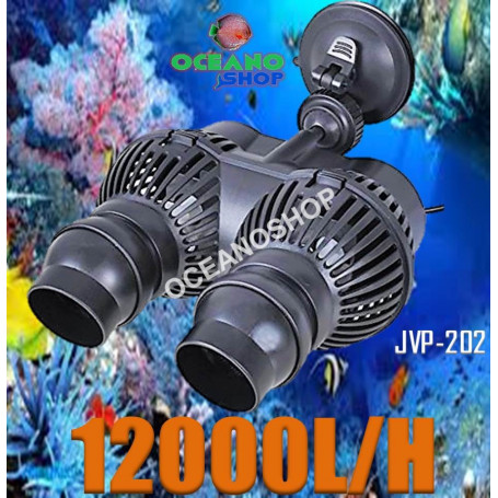jvp202 sunsun bomba recirculacion acuario marino 12000lh