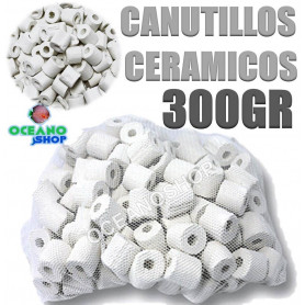Canutillos de ceramica para filtros 300 gramos