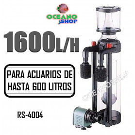 RS4004 skimmer separador proteina acuario marino rs electrical 1600lh